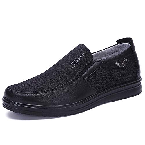 On Beijing Colore Mens dimensioni Fuxitoggo Comode Dimensione Nero slip Non Soft EU di Shoes Slip Old Marrone 41 grandi Espadrillas Cloth Slip fEYcwagq
