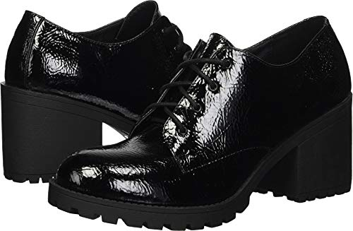 Dirty Laundry by Chinese Laundry Women's Lisette Ankle Boot, Black Patent, 9 M US