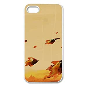 Illustration Of Autumn Watercolor style Cover iPhone 5 and 5S Case (Autumn Watercolor style Cover iPhone 5 and 5S Case)