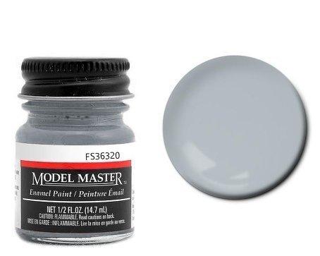 (Ghost Gray Enamel Paint .5 oz bottle FS36320 by Testors)