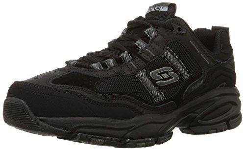 Skechers Sport Men's Vigor 2.0 Trait Memory Foam Sneaker, Black, 13 XW US