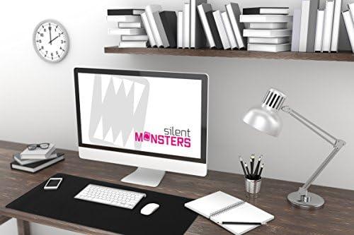 Silent Monsters Alfombrilla ratón Ordenador tamaño XXL (900 x 400 ...