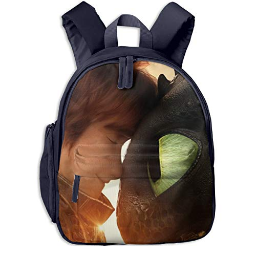 Unisex Kids Casual Children Backpack School Travel Shoulder Bags-How To Train Your Dragon from SBZMD