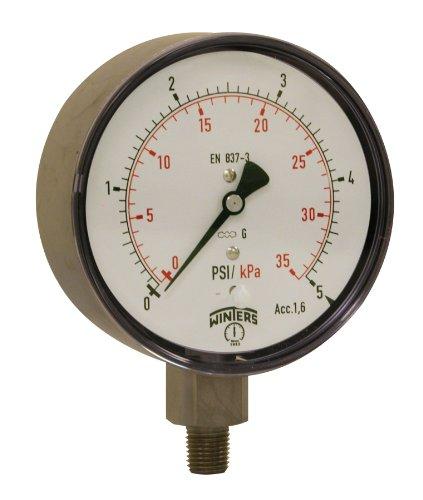 winters-plp-series-stainless-steel-304-dual-scale-low-pressure-gauge-0-5-psi-4-dial-display-16-accur