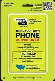 Best prepaid with bring your own phone option