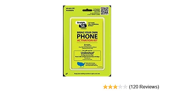 Straight Talk Bring Your Own Phone Activation Kit