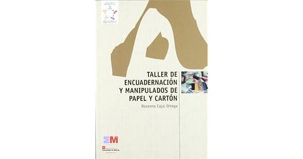 Amazon.com: TALLER DE ENCUADERNACION Y (9788445128664): COM ...
