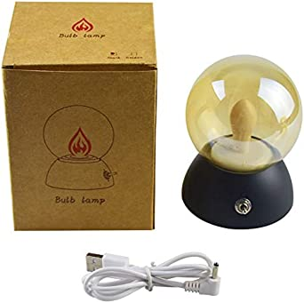 Qiong YaoTIANVeilleuse Vintage LED Ampoule Veilleuse Rétro