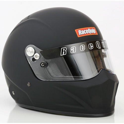 RaceQuip 283995 Flat Black Large VESTA15 Full Face Helmet (Snell SA-2015 Rated)