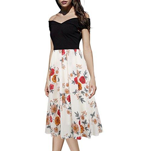 full skirt shirtwaist dress - 3