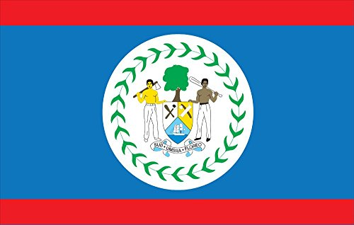 Allied Flag Belize World Flag - 3' x 5' - ()