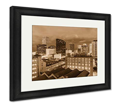 - Ashley Framed Prints New Orleans, Louisiana, USA, Wall Art Home Decoration, Sepia, 26x30 (Frame Size), Black Frame, AG32911964