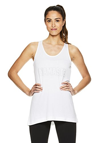 e476a66768 Gaiam Women s Graphic Active Crewneck Tank Top - Yoga Shirt for Women. Tap  to expand
