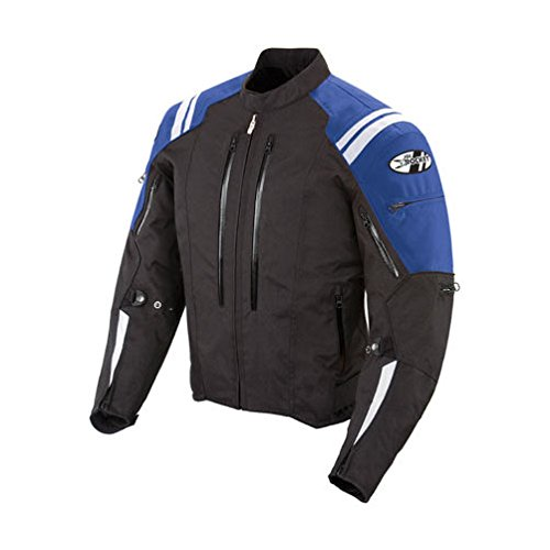 Joe Rocket Atomic 4.0 Men's Riding Jacket (Blue, Medium)