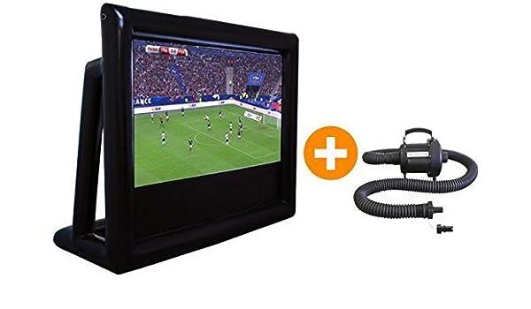 Pantalla Gigante Hinchable blowscreen 360 x 290 cm: Amazon.es: Electrónica