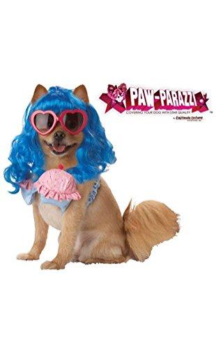 POPLife California Girl Cupcake Katy Perry Pet Dog Costume