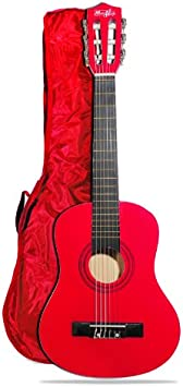 Technote MA-53 Guitarra acústica junior (4 - 6 años), color rojo