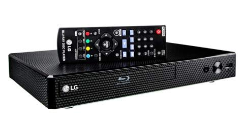 LG BP350 Blu-ray Disc & DVD Player Full HD 1080p Upscaling with Streaming Services, Built-in Wi-Fi, HDMI Output and…