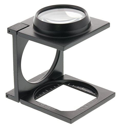 388 Series - Donegan V388-1 Vantage Series Linen Tester Magnifier with Lens, 5x Magnification, 1