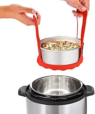 SALE Sling Handle Silicone Bakeware Lifter Pressure Cookers for Kitchen Cooking