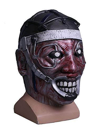 Kugga Halloween Cosplay Costume Mask Haunted House Props