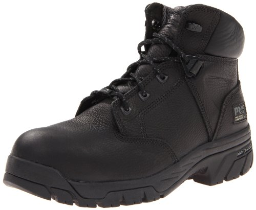 Timberland PRO Men's Helix 6-Inch Waterproof BL Comp Lace-Up Fashion Sneaker,Black,8.5 M US by Timberland PRO