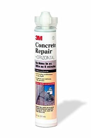 3M Concrete Repair Self-Leveling Gray, 8 4 oz Cartridge/2 mix nozzles