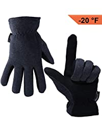 Winter Gloves, -20°F(-29℃) Cold Proof Thermal Work Glove...