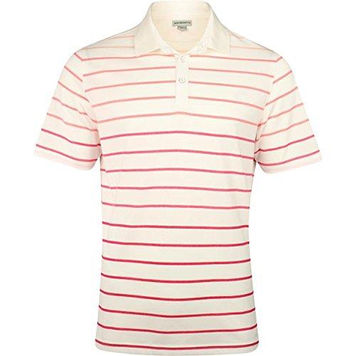 Ashworth Spectrum Stripe Yarn Dye Pink Jasper Shirt Men XXL Pink Yarn Dye