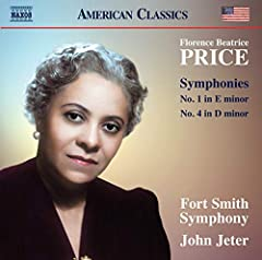 Florence Price was born in Little Rock, Arkansas and studied at the New England Conservatory, but it was in Chicago that her composing career accelerated. The concert in 1933 at which her Symphony No. 2 in E minor was premiered was the first ...