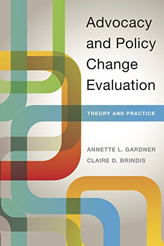 Advocacy and Policy Change Evaluation: Theory and Practice