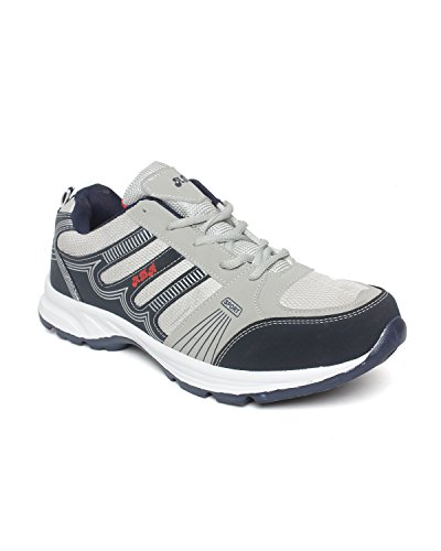Extavo Men Big Size Adr Grey and Blue Running Sports Shoes Uk-11
