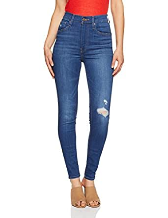 Levi's Women's Mile High Super Skinny Jeans, Wanna Be, 25 32