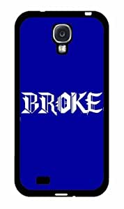 Broke 2-Piece Dual Layer Phone Case Back Cover Samsung Galaxy S4 I9500