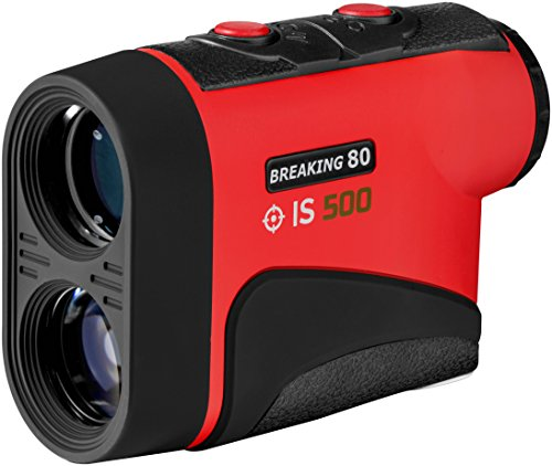 Breaking 80 Golf Rangefinder w/ Vibration Alert - Perfect Golf Accessory. The ONLY Laser Rangefinder with an Unlimited Lifetime Warranty