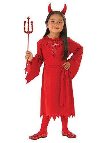Rubie's Girls Devil Costume, -