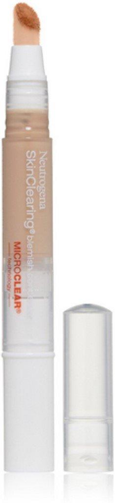 Neutrogena SkinClearing Blemish Concealer, Light [10], 0.05 oz (Pack of 3)