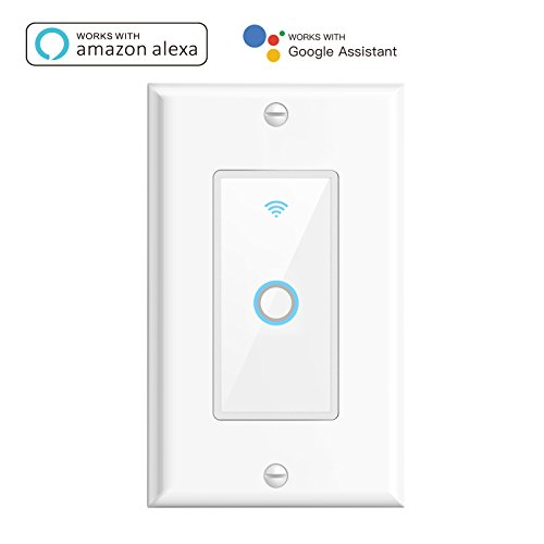Oittm Smart Wi-Fi Wall Switch Touch Switch
