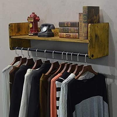 Jiaz Mueble/estante/estante de almacenamiento Perchero retro ...