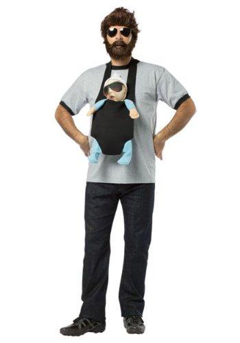 [Rasta Imposta The Hangover Alan Costume, Multi, Standard] (Funny Costumes)