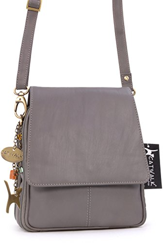 Catwalk type Sac besace Gris Collection