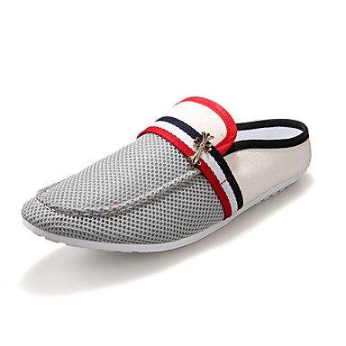 Zapatos de hombre para conducir el verano zapatos de cuero transpirable zapatilla casual calzado de playa ...