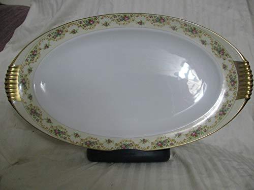 Meito Modern Windsor Oval Serving Platter 20 1/2