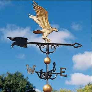 Whitehall Products Eagle Weathervane, 46-Inch, Verdigris ()