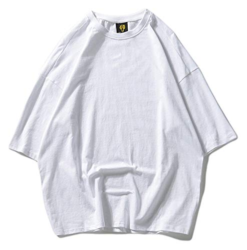 Chicos Tops color Ojal Tamaño Casual Clásico Verano Hop Street Corta Con White High Unisex Camisa Hip L Para Manga Hombre De Size Gran Tifer 4 qAR4wZH