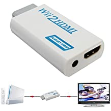 UniLink (TM) Wii to HDMI Video Converter Adapter 480P 720P with 3.5mm Audio Output Supports All Wii Display Modes