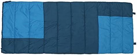 SUHAGN Saco de dormir Piscina Camping Camping Bolsas De Dormir Bolsa De Dormir Sacos De Dormir Para Adultos Azul, Azul