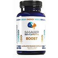 Focus & Memory Nootropic Supplement for Mental Performance | Brain Boost
