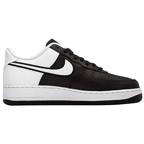 outlet store b8062 5417b Nike Men s Air Force 1 LV8 Black White Leather Casual Shoes 9 M US