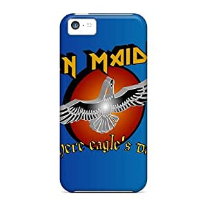Durable Iron Maiden Back Case/cover For Iphone 5c